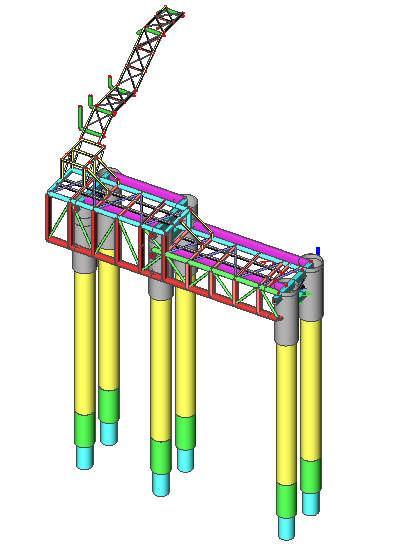 M.O.A. with Besix Dubai – S.B.L. platform for Bahrain LNG Import Terminal Project